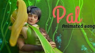 Pal - Jalebi | Female Version | Pal Ek Pal | Whatsapp Status Video | Animated Love Song 2018