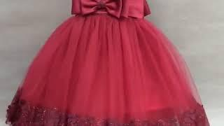 Aliexpress children's wedding dress princess dress female show lace dress g