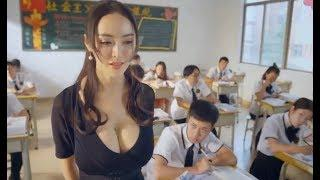 Female teacher with big tit is so sexy