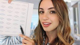 Drawing Features On Your Face - ASMR Darling Remake
