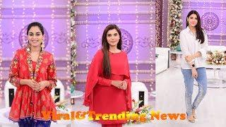 Female Celebrities Special Show With Nida Yasir In Good Morning Pakistan Today