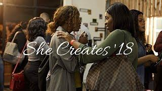 #SheCreates18 - The Ultimate Female Creative Networking Event | What's The Motive? EP 11