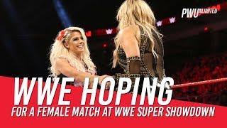 WWE Hoping For Female Match At WWE Super ShowDown