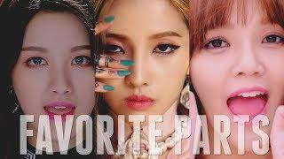 FAVORITE PARTS IN KPOP SONGS | Female Artists #3