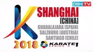 FINAL - Plank Bettina (Austria) Vs Dermiturk Gulsen (Turkey) - Final Female Kumite -50 Kg - Shanghai