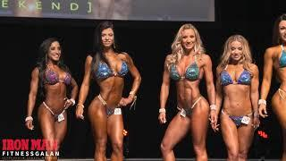 awesome physique of most amazing bodybuilder female .bikni show of✌