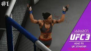 UFC 3 | THE ROAD TO UFC STARDOM SERIES | FEMALE EDITION (STRAWWEIGHT) | #1 THE JOURNEY BEGINS!