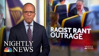 Video Captures Ryanair Passenger's Racist Rant At Black Woman | NBC Nightly News