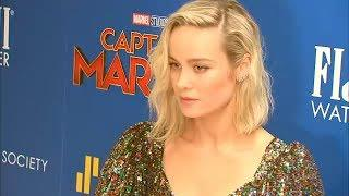 Brie Larson makes history as 1st female Marvel protagonist in 'Captain Marvel'