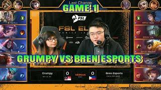 GRUMPY VS BREN ESPORTS :: FEMALE ESPORTS LEAGUE ELITE GAME 1