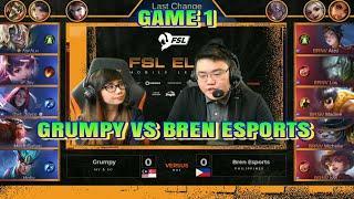 GRUMPY VS BREN ESPORTS :: FEMALE ESPORTS LEAGUE ELITE GAME 1