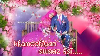 Khamoshiyan???? female ????version ???? for???? whatsapp???? status???? 30sec????.video ????by???? N