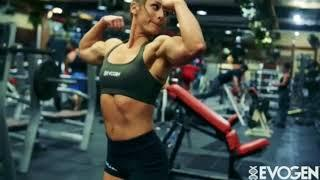 Lauren Findley Fitness Biceps Female bulder II best work out Muscle