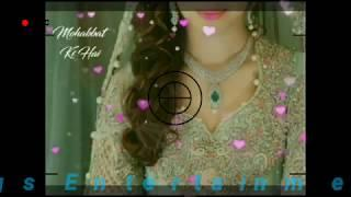 Whatsapp❤️ Status???? Video, (Female Version) | Pehli Pehli Baar mohabbat ki hai whatsApp status vid