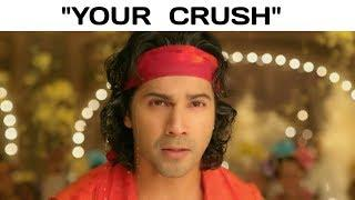 You Vs Your Crush Meme On Bollywood Style - Bollywood Song Vine (Female Version)
