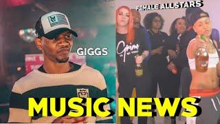 Giggs B'Day/ Female Allstars /Alum Rock Incident/Jeremy Kyle #MusicNews #StreetNews