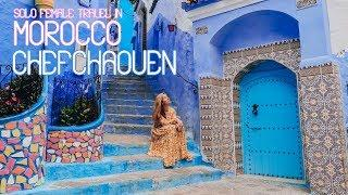 Solo Female Travel in Morocco - Chefchaouen - Episode 1