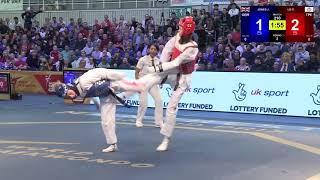 1/16 Female -57 kg | Jade Jones (GBR) vs Lo Chia-Ling (TPE)