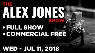ALEX JONES (FULL SHOW) Wednesday 7/11/18: Trump Takes on NATO, Roger Stone & Mindy Robinson