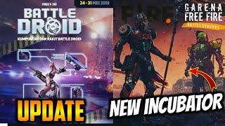 FREEFIRE- UPCOMING UPDATES, NEW INCUBATOR, BIRDS IN FREEFIRE ?? , NEW FEMALE BUNDLE!! CHECK OUT!!
