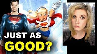 Henry Cavill out, DCEU Supergirl Origin Movie in?!