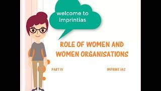 INDIAN SOCIETY SERIES : Women Organisations and Women Movements