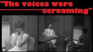 1960s psychiatric interview with female after acute schizophrenic episode