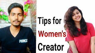 Useful youtube tips for female creators. Ft. Techy kiran????