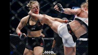 Series of brutal female knockouts in MMA