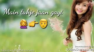 sad female Whatsapp Video Status Thoda Sa Pyaar Hua Hai ! Zoya ansari whatsapp videos status