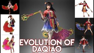 DYNASTY WARRIORS SERIES EVOLUTION - Daqiao (DW3-DW5, DW7-DW9)