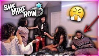 I WANT YOUR GIRL PRANK???? ON BJ GROOVY | IT GOT EXTREMELY HEATED ????