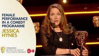 Jessica Hynes Wins Female Performance in a Comedy Programme | BAFTA TV Awards 2019