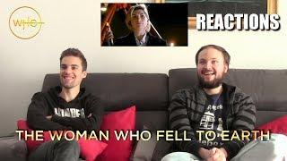 "Doctor Who 11x01 ""The Woman Who Fell to Earth"" REACTIONS"