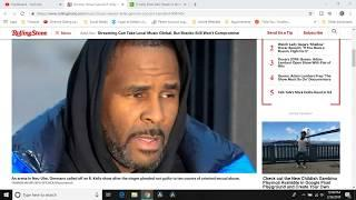 "???? 47 Year Old ""Female Friend Or R. Kelly Pays the 100K To Bail Him Out"