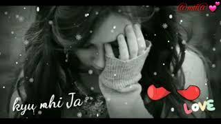 ????Maine mere jaana????Emptiness ????Female version ????Sad song video status ????Broken heart song