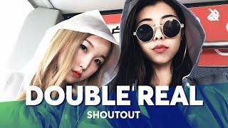 DOUBLE REAL | Chinese FEMALE Beatbox Tag Team