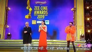 Zee cine 2019 Deepika Padukone best actor female award