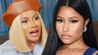Nicki Minaj calls out messy reporter | Cardi B says she made it easier for female rappers