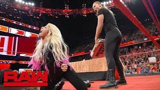Ronda Rousey is suspended after launching an attack: Raw, June 18, 2018
