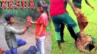 Nesha | Arman Alif | village boys short film | female version song nesha #BBproduction