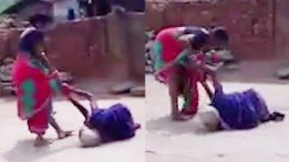 Video of Odisha woman dragging her mother-in-law on road goes viral