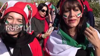 Iran: Women allowed into football stadium after 40 years