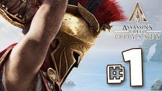 THIS IS SPARTA!!! - Assassin's Creed Odyssey Walkthrough | Part 1 || FULL PLAYTHROUGH (PS4) HD