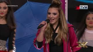 4th Line show us some great talent with the famous female anthem | X Factor Malta | Live Show 2