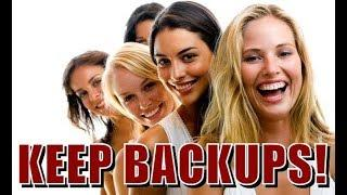 Why Men Should Keep Backup Options! ( RED PILL )