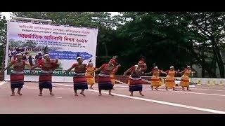 Ai omo Gisik ra'ata  Garo dance video female version| World Indigenous day Dhaka | Latest Garo dance