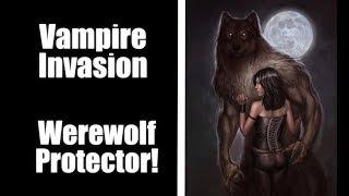 ASMR, Werewolf Boyfriend Protects you from Vampires! (Forbidden Love Series)