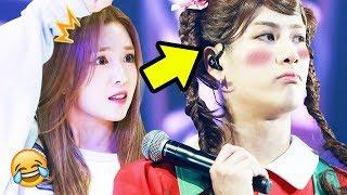 K-POP BOY GROUPS CROSSDRESSING AS FEMALE IDOLS