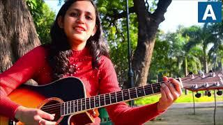 Main Tenu Samjhawan Ki Guitar Lesson | Simple Guitar Chords | Music Wale (Female Scale)